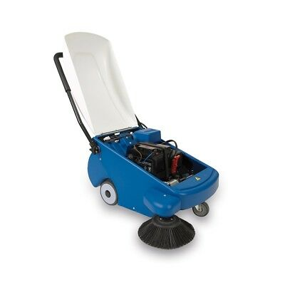 Floor Sweeper Man Down With Battery  Professional Eolo Lps05 B