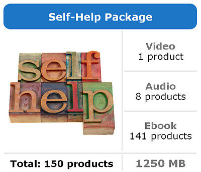 Self-Help Package / 150 Products / Large Collection