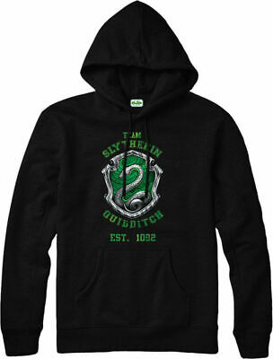 Harry Potter Hoodie, Quidditch TEAM SLYTHERIN Hoodie, Inspired Design Top