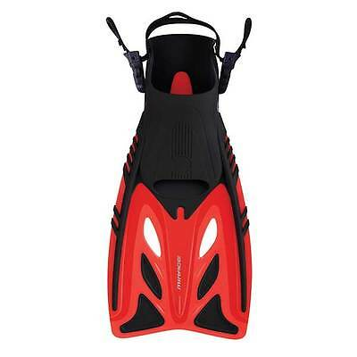 Mirage Crystal Kids Fins / Flippers RED Size L/XL