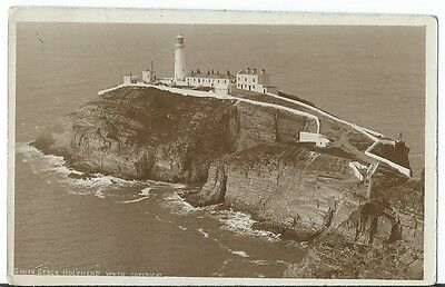 Anglesey Holyhead South Stack Lighthouse RP by Wright & Co Bootle Unused