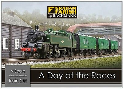 Graham Farish 370-185 A Day at the Races N Scale Train Pack Model Railway Set