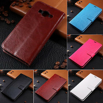Classic Case Flip Card Holder Wallet Soft Shell Leather Cover For Samsung Galaxy