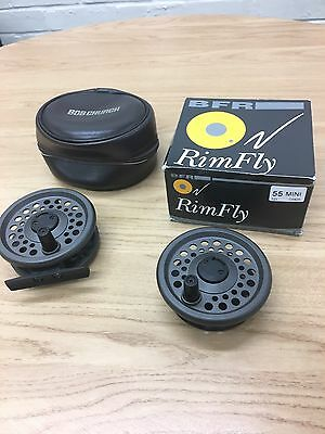 BFR RimFly 55 Reel and Spare Spool With Case