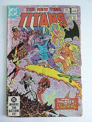 DC - The New Teen Titans June 1983 Vol. 4 No. 32