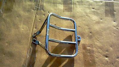 Harley Davidson Dyna Chrome Luggage Bag Rear Rack