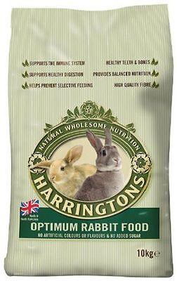 Harringtons Optimum Complete Rabbit Food No Arificial Colours - 10kg Bag