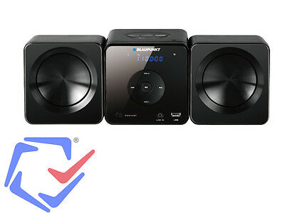 HI FI Micro Mini impianto HiFi Blaupunkt MS5BK con lettore CD/MP3/USB, LED