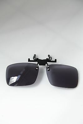Sunglasses CLIPS/ Add On, Black. Reclining. 6 PIECES OFFER