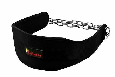 Norman Dipping Belt Body Building Weight Lifting Dip Chain Exercise Gym Training