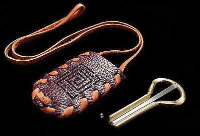 Jew's Harp by P.Potkin in leather case Original Altai mouth Komus Jaw Harp