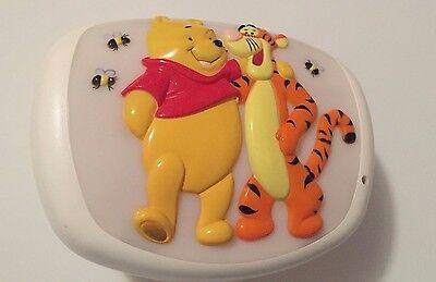 Baby night light Disney Winnie the Pooh & Tigger babies crib lighting music toy.