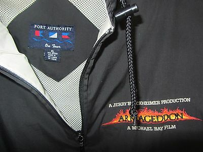 Armageddon movie promo full zip jacket XL Bruce Willis Ben Affleck Michael Bay