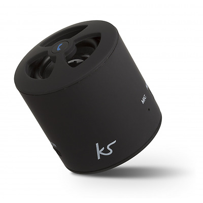KitSound PocketBoom Universal Rechargeable Bluetooth Portable Speaker Hands Free