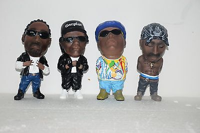 6'' Snoop Doggy Dogg/Eazy E/Biggie Smalls The Notorious B.I.G./Tupac 2PAC Figure