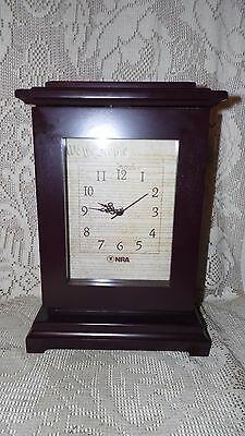 """Nra Conceal Wood Clock """"we The People"""" Mancave Collectible Battery Operated"""