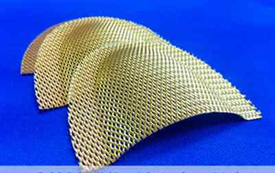 Gold Plated Grid Strengtheners Reinforcement Mesh 10 Pcs Upper