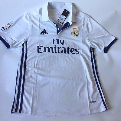 Real Madrid FC Shirt/Jersey for men 2017 in white
