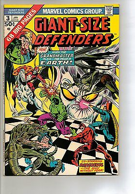 Giant-Size Defenders # 3 - VF 8.0 - 1975 1st Appearance Korvac