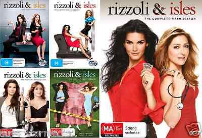 Rizzoli And Isles Series COMPLETE COLLECTION Season 1 - 5 : NEW DVD