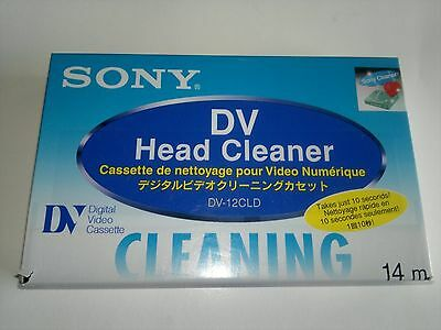 Cassette nettoyage video DV / DV head cleaner,NEUF,  NEW , sealled