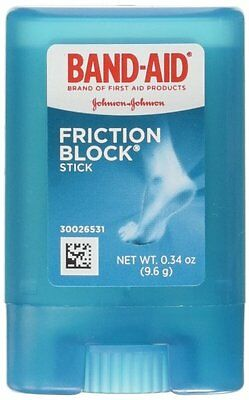 Johnson + Johnson Band-Aid Invisible Friction Blister Block Stick 0.34oz