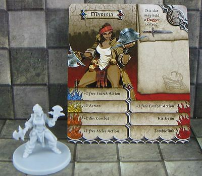 Zombicide Black Plague Promo Hero Myrinia