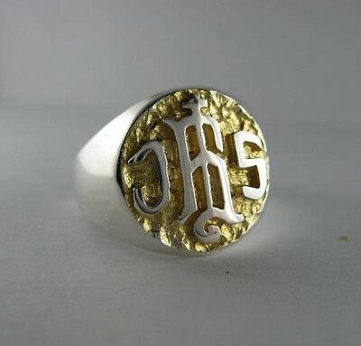 Solid silver ring for Bishop and Priest - 24352