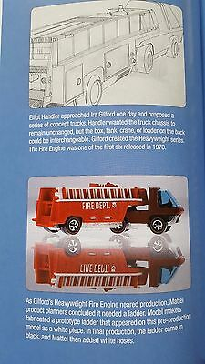 Redline Hot Wheels Prototype un-painted hose Fire Engine with replacement ladder