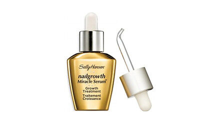 (2 PACK) Sally Hansen NAIL GROWTH MIRACLE Serum Nail & Cuticle Treatment CLEAR