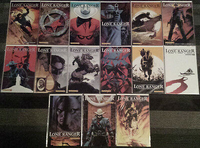 Lone Ranger (2006 Dynamite) 1-13 + two alt covers all NM Condition