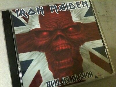 Iron Maiden Double CD Hull UK No Prayer For The Dying Tour 90
