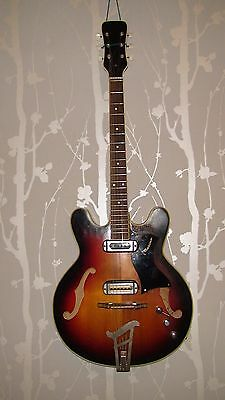 1960's MUSIMA 1657 GDR ELECTRIC GUITAR VINTAGE AND RARE