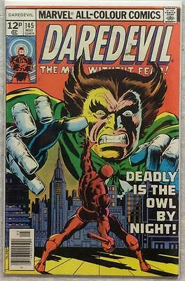 Daredevil #145 (1977 Marvel) Bronze Age Issue in FN condition.