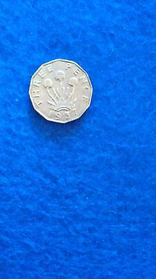 George VI  3d  threepence 1937