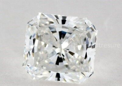 Lovely 2.93 ct 8.60 mm Square Radiant Cut K-L  White Loose Moissanite VVS2