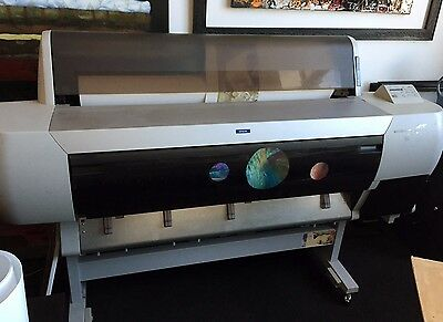 Epson Stylus Pro 10600 44in Wide Format Printer Ultrachrome Inks