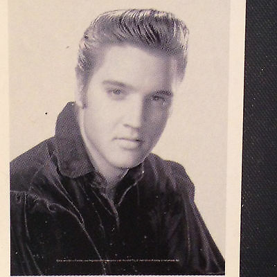 Elvis Presley 30x40 Fabric Poster B/W by Textile Poster Officially Licensed