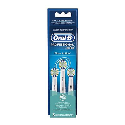 Oral-B  Floss-Action Toothbrush Heads  X  2,  (  6 brushes)