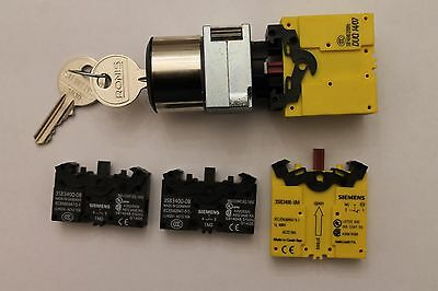 Siemens Key Switch With Additional Contacts