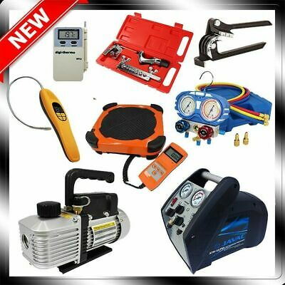 Refrigeration Service Pack - Recovery Unit - Vacuum Pump - Scale - Leak Detector