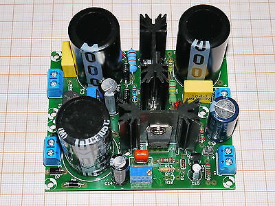 DIY PSU for tubes with regulated anode voltage Shunt Regulator High Tension