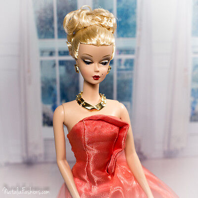 New Evening Dress Only For Barbie Silkstone Fashion Royalty Nu Face Doll