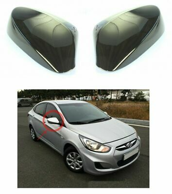 Without LED Side Mirror Cover 2p For Hyundai Accent Solaris i25