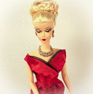 Last One New Red Dress Only Barbie Silkstone Fashion Royalty Katy Keene Doll