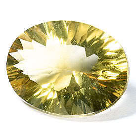 5 Ct Brilliance 100% Natural Yellow Oval Mystic Topaz