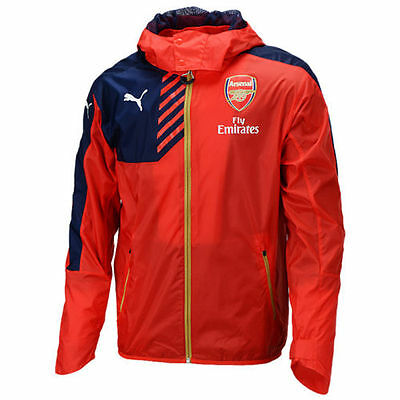 Official Arsenal Rain Jacket - Available in 2 colours - Sizes M,L