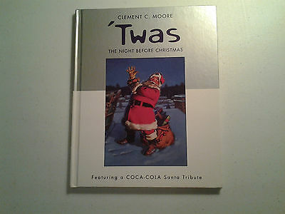 Twas the Night Before Christmas - Clement C. Moore - Coco Cola Santa Tribute