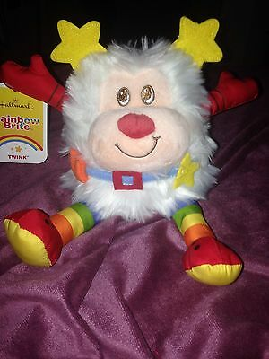 Rainbow Brite Sidekick WhiteTwink Plush Doll Retro 80s Gay Pride Hallmark New