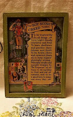 Boy Scout Creed Framed Picture
